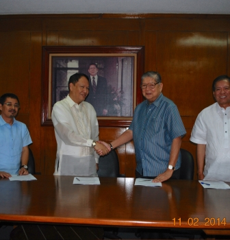 Contract Signing with Mitsubishi